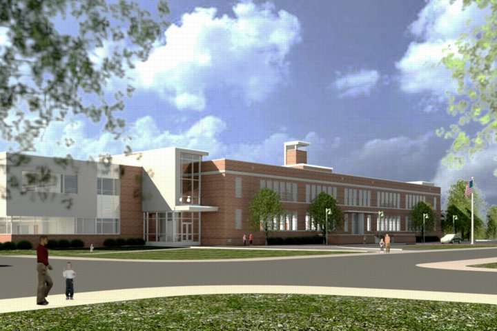 Cherry Hill Elementary And Middle School. JRS Architects Is Providing Architectural  Design Services To Baltimore City Public Schools Under The 21st Century ...